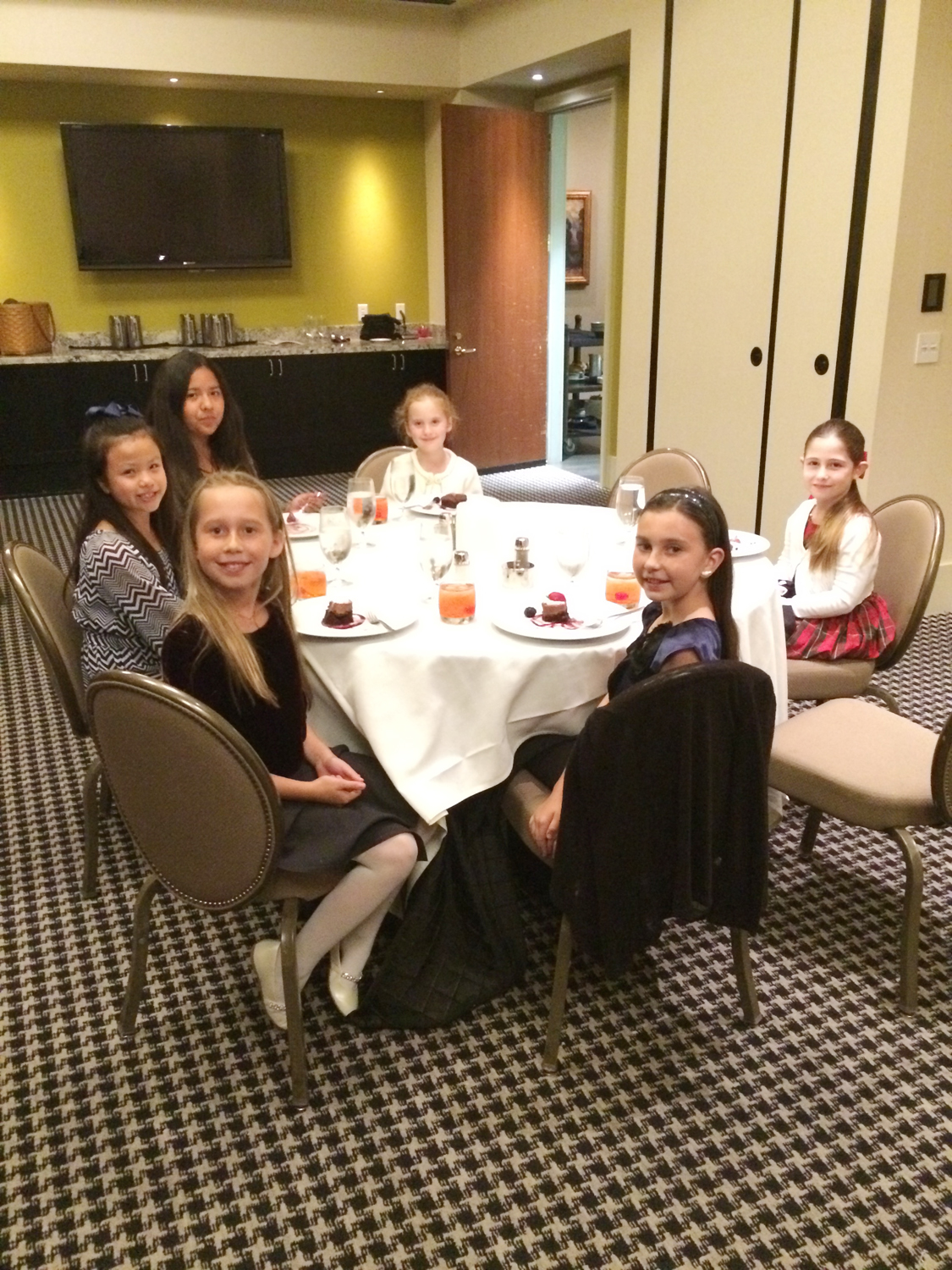 Three Course Extravaganza with The University Club's Youngest Members